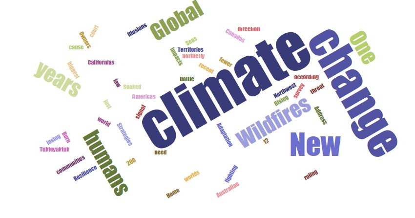 Climate Change Update: Today In Climate Change (8 March 2019)